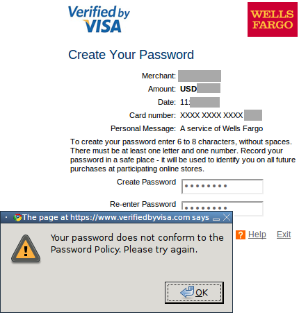 By To Verified Visa Select Forces Weak Users Passwords